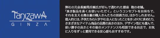 Tanizawa-ginza-